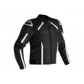 Veste RST S-1 textile noir/blanc homme
