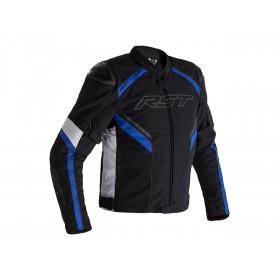 Veste RST Sabre Airbag textile noir/blanc/bleu homme