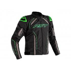 Veste RST S-1 textile noir/gris/vert fluo homme