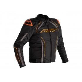 Veste RST S-1 textile noir/gris/orange homme