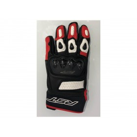 Gants RST Freestyle II cuir rouge homme
