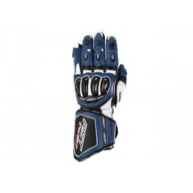 Gants RST Tractech Evo 4 cuir bleu/blanc/noir homme