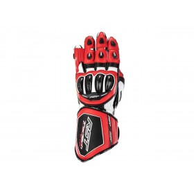 Gants RST Tractech Evo 4 cuir rouge/blanc/noir homme