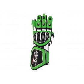 Gants RST Tractech Evo 4 cuir vert/noir homme