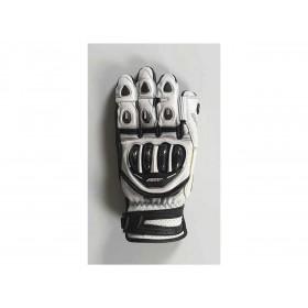 Gants RST Tractech Evo 4 Short blanc/noir cuir homme