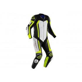 Combinaison RST Pro Series cuir jaune fluo/camo homme