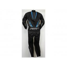 Combinaison RST Tractech Evo 4 cuir noir/gris/bleu femme