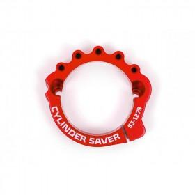 Protection d'échappement S3 rouge KTM/Husqvarna