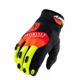 GANTS SAFETY TAILLE 7 BLACK RED ORANGE