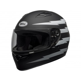 Casque BELL Qualifier Z-Ray Matte Black/White