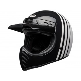 Casque BELL Moto-3 Reverb Gloss White/Black