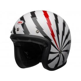 Casque BELL Custom 500 DLX SE Vertigo Gloss White/Black/Red