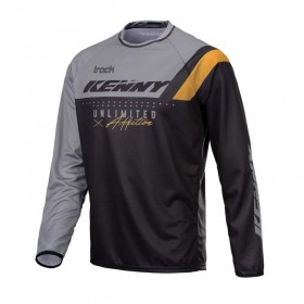 MAILLOT TRACK FOCUS ADULTE S BLACK GREY