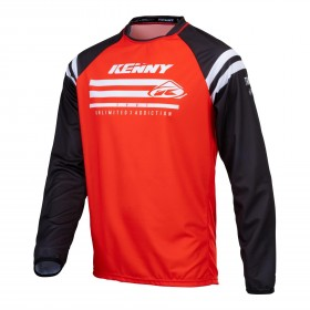 MAILLOT TRACK RAW KID XXXS RED