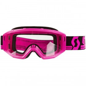 SCO GOGGLE PRIMAL CLEAR BLACK/PINK CLEAR