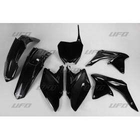 Kit plastiques UFO noir Suzuki RM-Z250