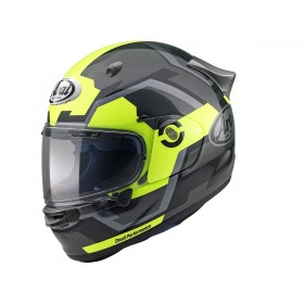 Casque ARAI Quantic Fluor Yellow