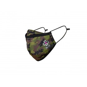 Masque lavable MUC-OFF Woodland Camo taille S x3