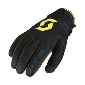 GLOVE 350 INSULATED BLK/LIME GRN XL
