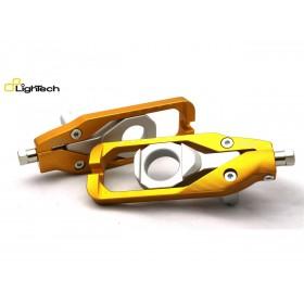 Tendeur de chaine LIGHTECH noir Suzuki GSX-R1000
