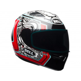 Casque BELL Qualifier Gloss Tagger White/Black/Red Splice taille XS