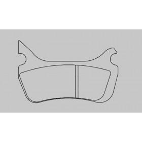 Plaquettes de frein BERINGER Enduro métal fritté - KIT1258SI