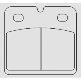 Plaquettes de frein BERINGER Touring métal fritté - KIT506F3