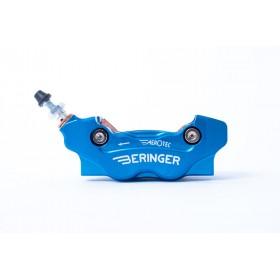 Etrier de frein axial gauche BERINGER Aerotec® MX 4 pistons bleu