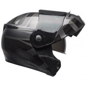 Casque BELL SRT Modular Matte/Gloss Blackout taille L