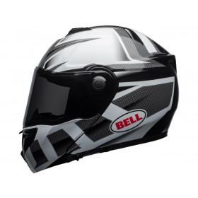 Casque BELL SRT Modular Gloss White/Black Predator taille L