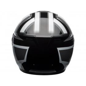 Casque BELL SRT Modular Gloss White/Black Predator taille M