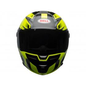 Casque BELL SRT Modular Gloss HI-VIZ Green/Black Predator taille XXL