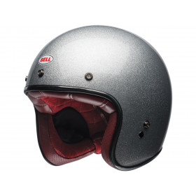 Casque BELL Custom 500 Gloss Silver Flake taille XL