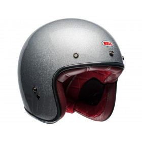Casque BELL Custom 500 Gloss Silver Flake taille L