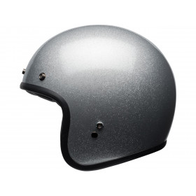 Casque BELL Custom 500 Gloss Silver Flake taille M