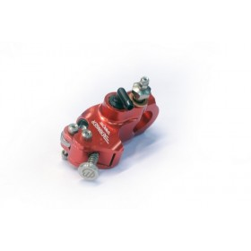 Maître-cylindre d'embrayage radial BERINGER Aerotec® Ø17,5mm bocal integré rouge (sans levier)