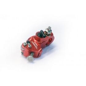 Maître-cylindre d'embrayage radial BERINGER Aerotec® Ø14mm bocal integré rouge (sans levier)