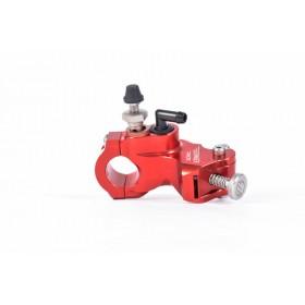 Maître-cylindre d'embrayage radial BERINGER Aerotec® Ø17,5mm bocal séparé rouge (sans levier)
