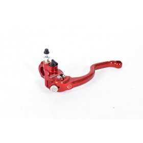 Maître-cylindre d'embrayage radial BERINGER Aerotec® Ø20,5mm bocal séparé rouge (levier radial type 5 - 16cm)