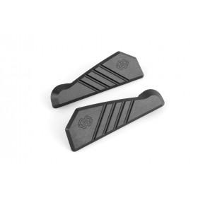 Cache orifice reposes-pieds arrière GILLES TOOLING noir Yamaha YZF-R1/M