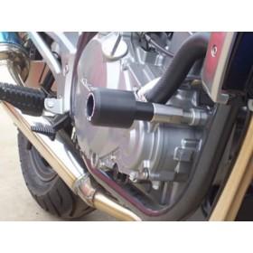 Tampons de protection R&G RACING Classic - noir Suzuki GSR600