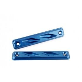 Protection de radiateur latérales GILLES TOOLING bleu Yamaha MT-03