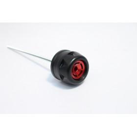 Protections fourche et bras oscillant (axe de roue) GILLES TOOLING GTA noir Yamaha