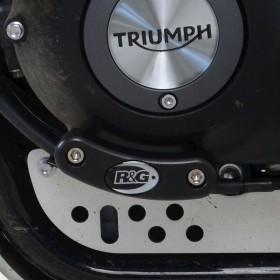Slider moteur R&G RACING noir Triumph Scrambler 1200