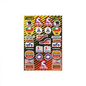 Planche stickers TECNOSEL Vintage PVC