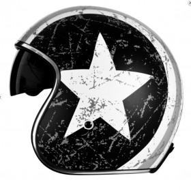 Casque ORIGINE Sprint Rebel Star Grey gris/blanc XL