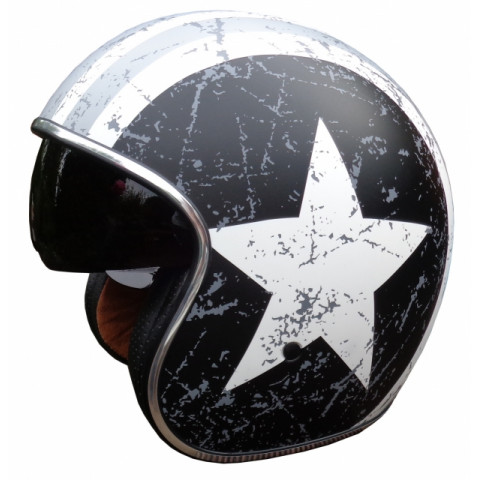 Casque ORIGINE Sprint Rebel Star Grey gris/blanc XS