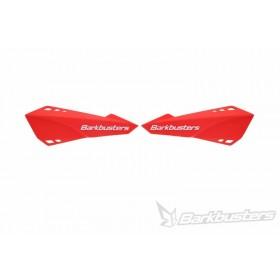 Plastique de protège-mains BARKBUSTERS rouge