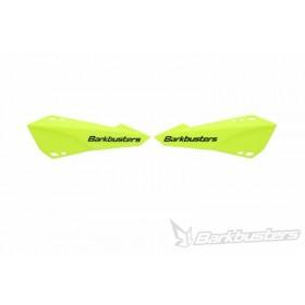 Plastique de protège-mains BARKBUSTERS jaune fluo