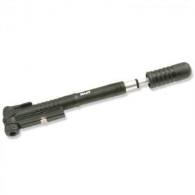 Mini pompe télescopique GIYO avec manomètre